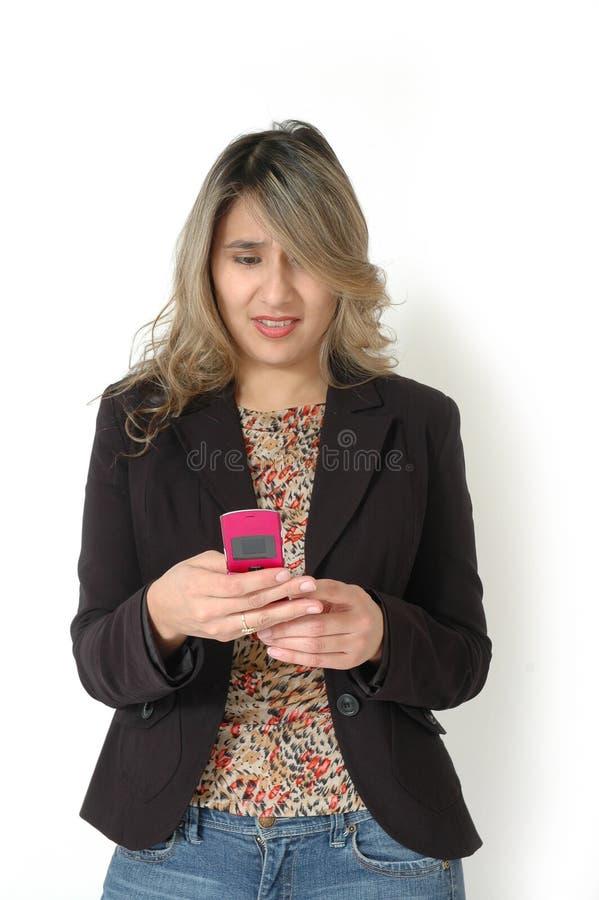 Texting fotografía de archivo libre de regalías