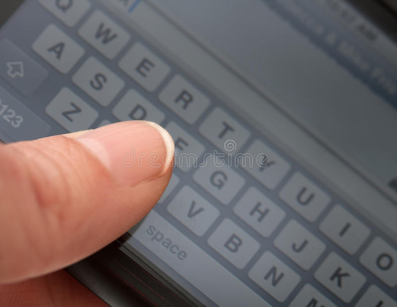 Download Texting stock photo. Image of send, thumb, diagonal, mobile - 17748654