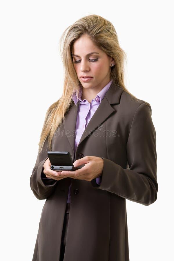 texting kobieta obrazy royalty free