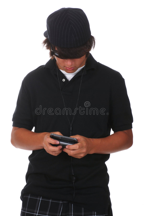 Download Texting Teen stock photo. Image of face, thirteen, mobile - 6238566