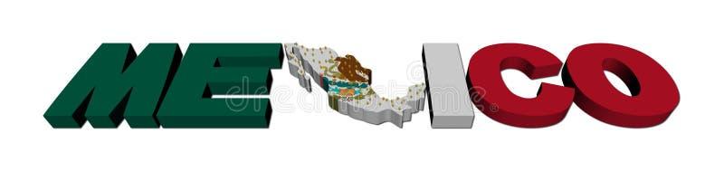 Texto de la correspondencia de México con el indicador y la población libre illustration