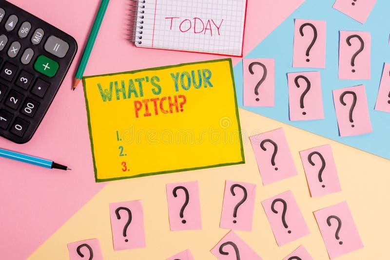 Texto de la escritura de la palabra cu?l S es su pregunta de la echada Concepto del negocio para preguntar por la propiedad del t fotografía de archivo