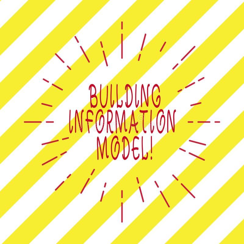 Texto de la escritura que escribe el modelo constructivo de la información Representación de Digitaces del significado del concep libre illustration