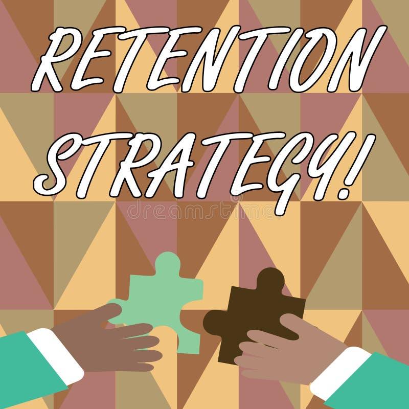 Texto de la escritura que escribe estrategia de la retención Actividades de significado del concepto para reducir el volumen de v libre illustration