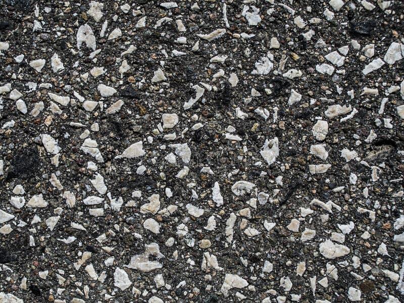 texto do asfalto na estrada foto de stock