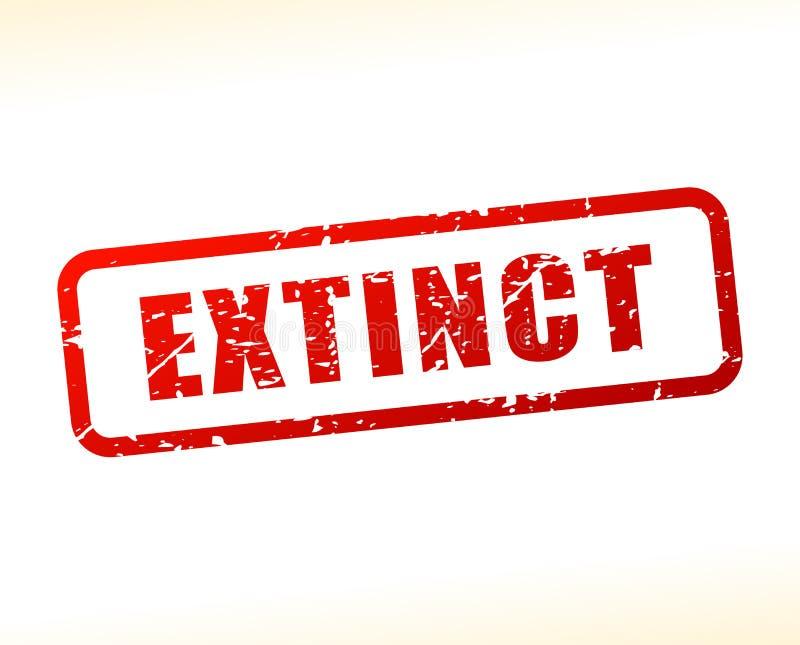 Texto extinto protegido libre illustration