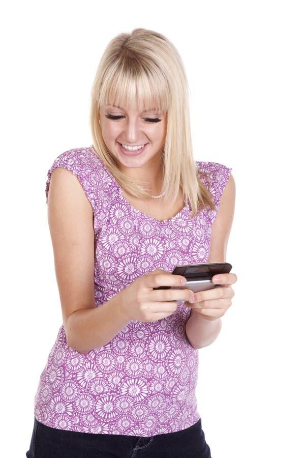 Download Texto feliz do sorriso foto de stock. Imagem de felicidade - 16873240