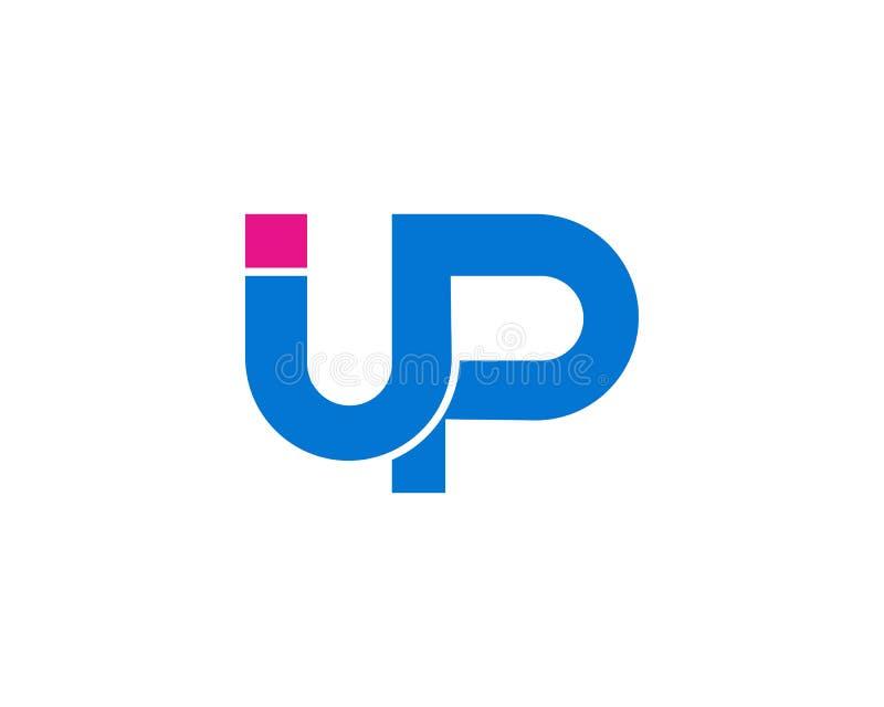 Texto inicial ENCIMA del diseño del icono de la plantilla del negocio del logotipo ilustración del vector