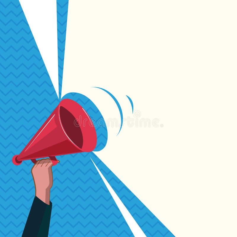 Texto vacío para el anuncio, promoción, cartel, aviador, bandera del web, artículo del espacio de la copia de la plantilla del di libre illustration
