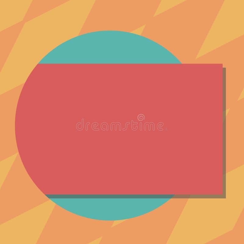 Texto vazio da cópia do conceito do negócio do projeto para o material promocional das bandeiras da Web trocista acima da cor ret ilustração do vetor
