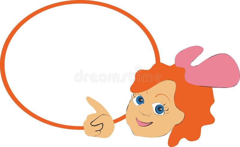 textspace девушки 01 цвета бесплатная иллюстрация