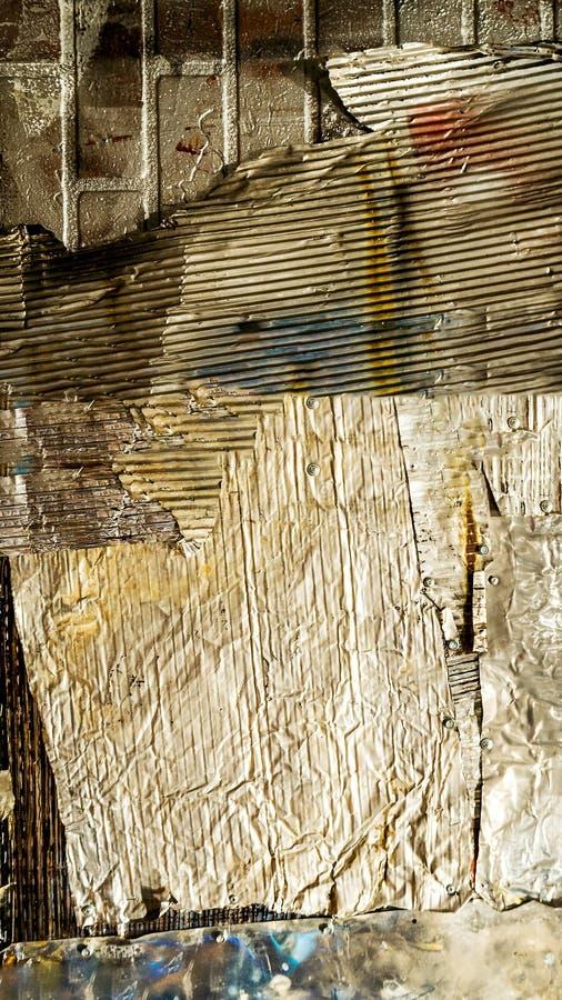 Textur-, aluminiumflygkropp och nitar, gammalt wal royaltyfria foton