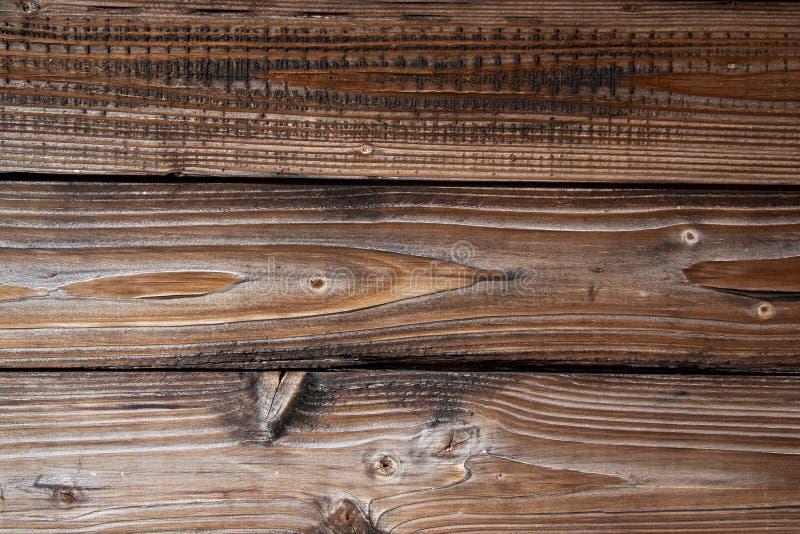 Textur av åldrades gamla träbräden av den bruna åldern modell fotografering för bildbyråer