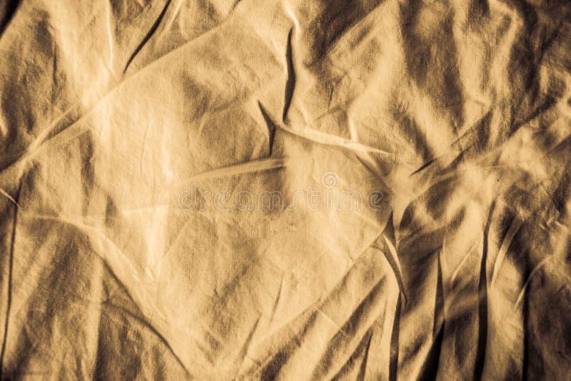 Textur av bakgrund f?r linnetyg katastrofalt royaltyfri foto