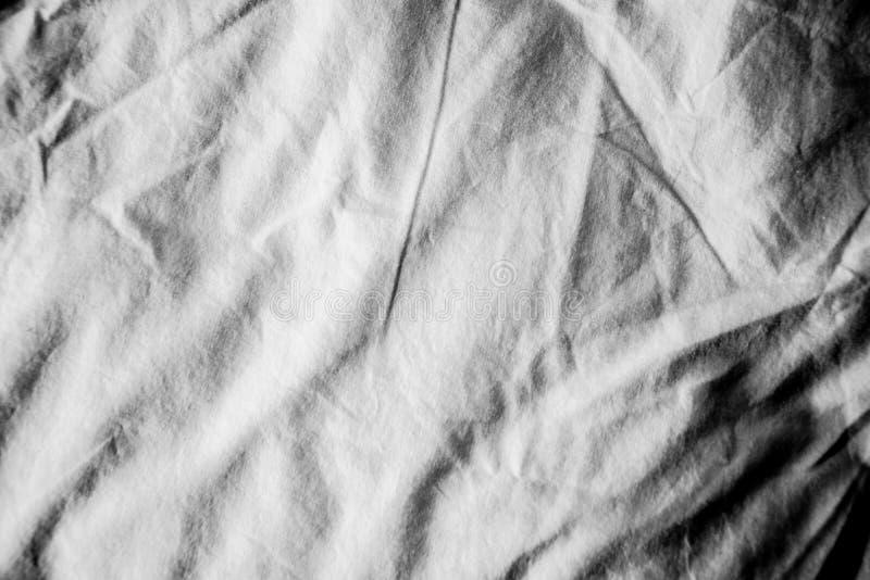 Textur av bakgrund f?r linnetyg katastrofalt arkivbild
