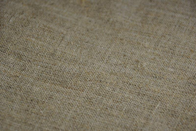 Textur av beige linnekanfas fotografering för bildbyråer