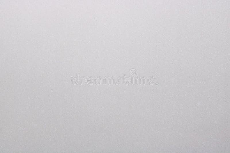 Textur av blänker vit målarfärg på det metalliska arket, abstrakt modellbakgrund fotografering för bildbyråer