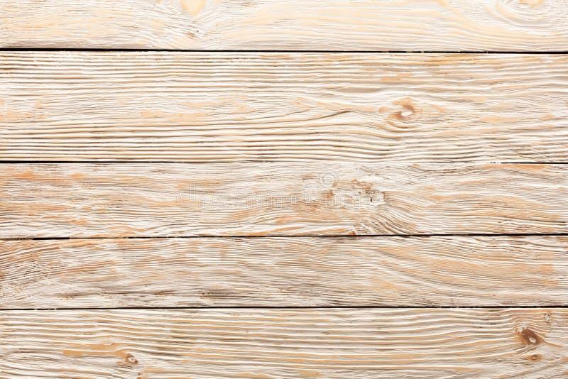 Textur av bräden av ljust gammalt vitt trä royaltyfri fotografi