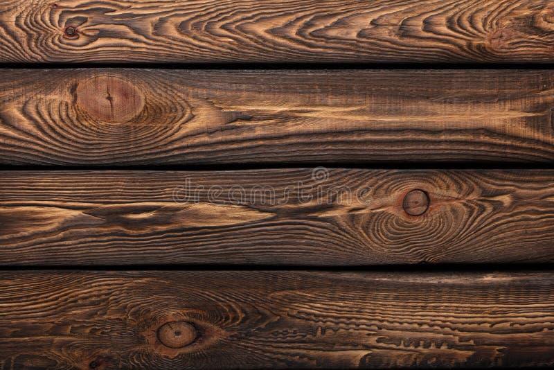 Textur av bräden av mörkt gammalt brunt trä stock illustrationer
