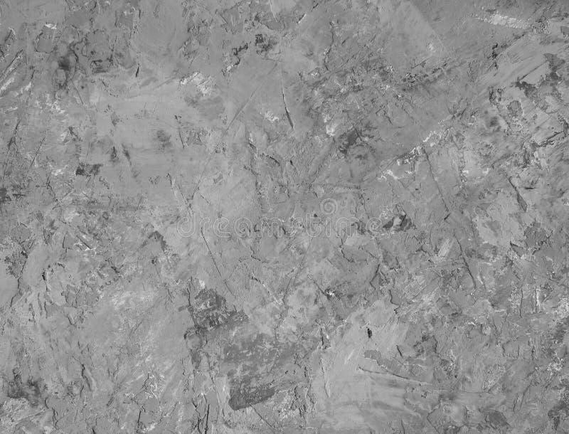 Textur av den gamla gr?a betongv?ggen f?r bakgrund royaltyfri fotografi