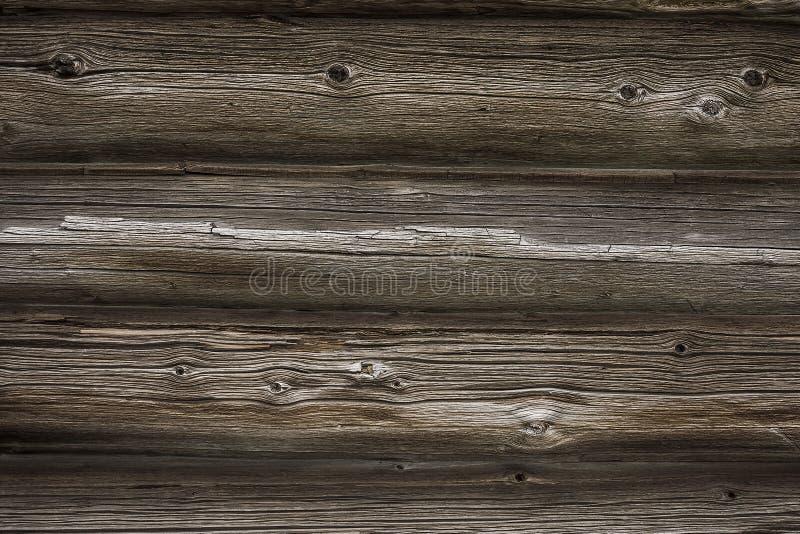 Textur av den gamla red ut trädnärbilden utomhus royaltyfria bilder