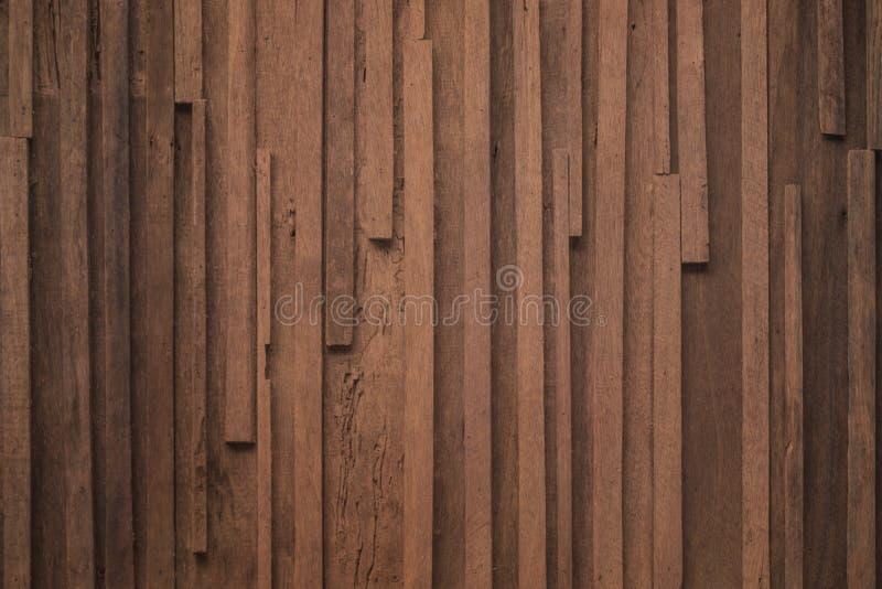 Textur av den mörka träplankan kan vara bruk för bakgrund Den mörka träbakgrunden är överst sikten av naturligt trä från den sh s arkivbild