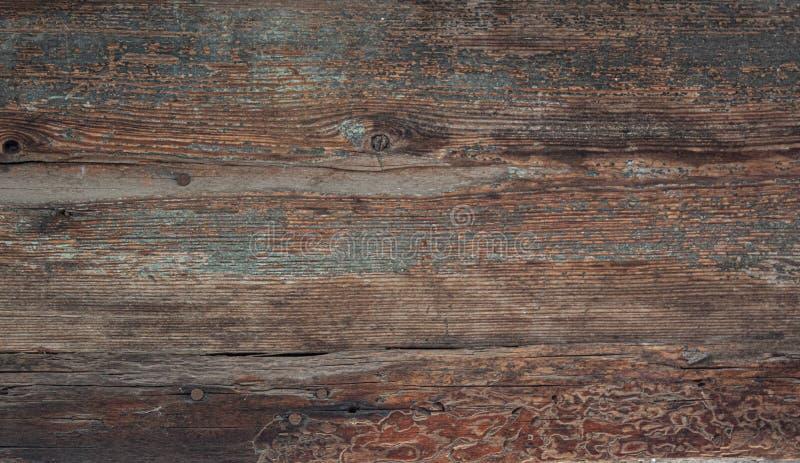 Textur av det gamla mörka träbrädet fotografering för bildbyråer