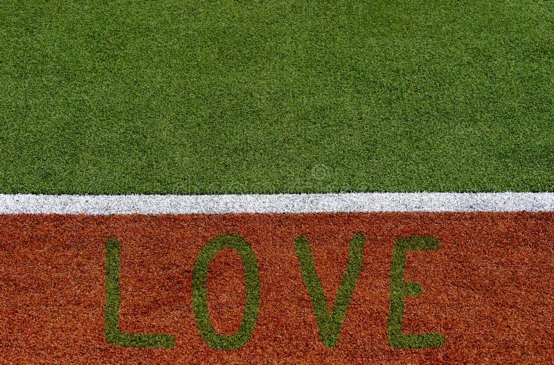 Textur av fältet för örträkningssportar Använt i tennis, golf, baseball, landhockey, fotboll, syrsa, rugby Design med ett ord fotografering för bildbyråer