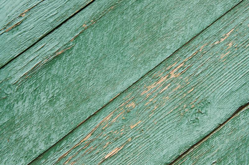 Textur av gammal grön träbrädebakgrund arkivbilder