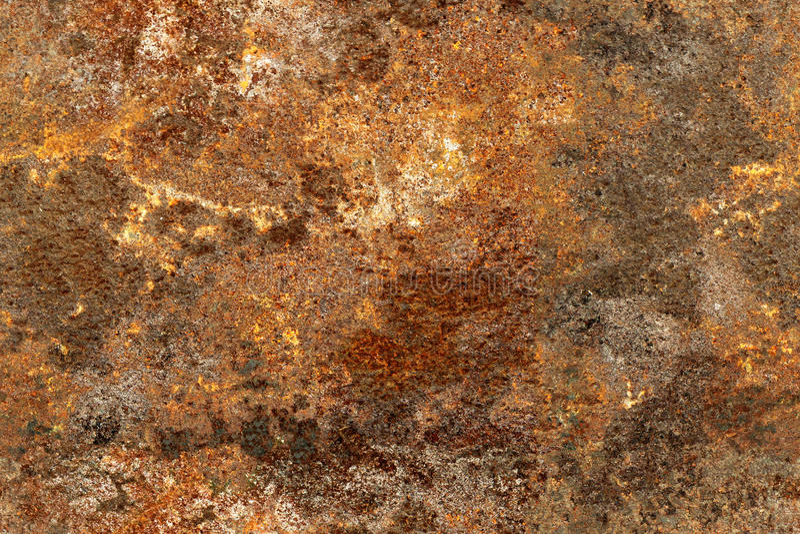 Textur av gammal och rostig metall arkivfoto
