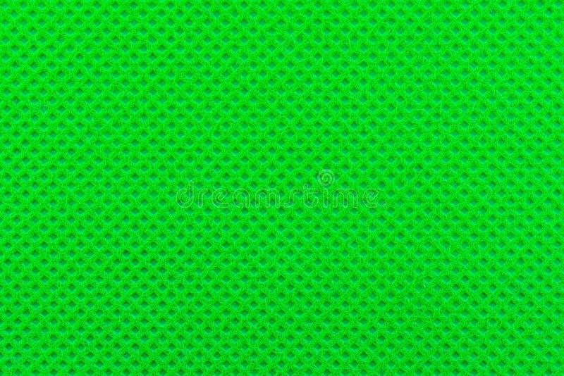 Textur av grönt tyg royaltyfri foto