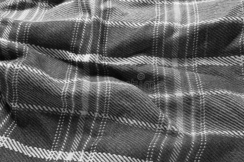 Textur av handarbeteull, mono signal royaltyfri foto