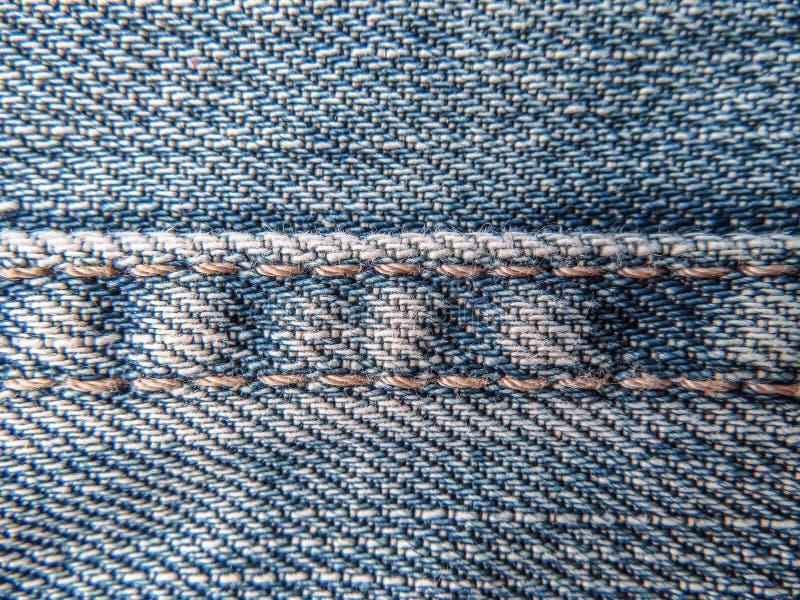 Textur av jeans royaltyfria foton