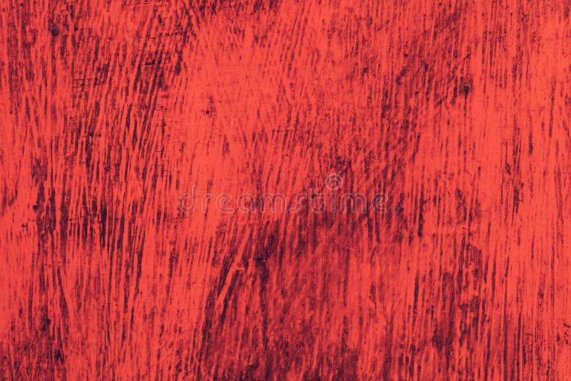 Textur av kanfasbakgrund En trävägg täckas med ljus rik gammal målarfärg arkivbilder