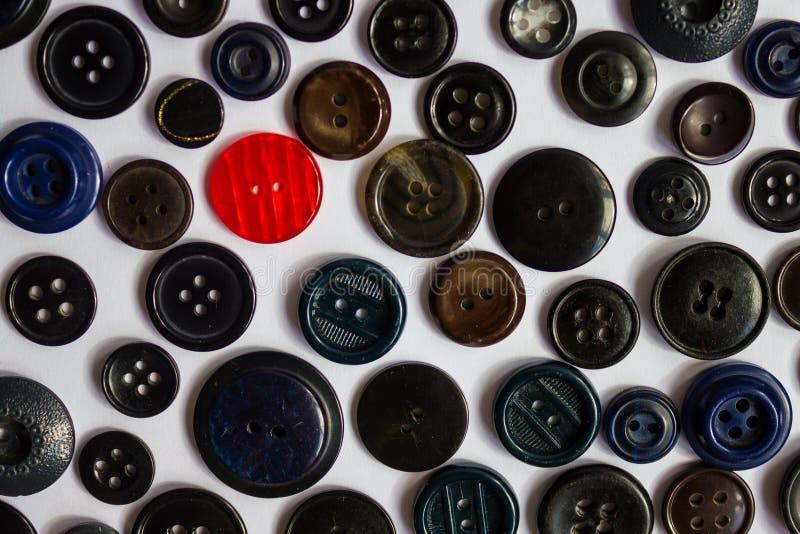 Textur av knappar arkivbilder