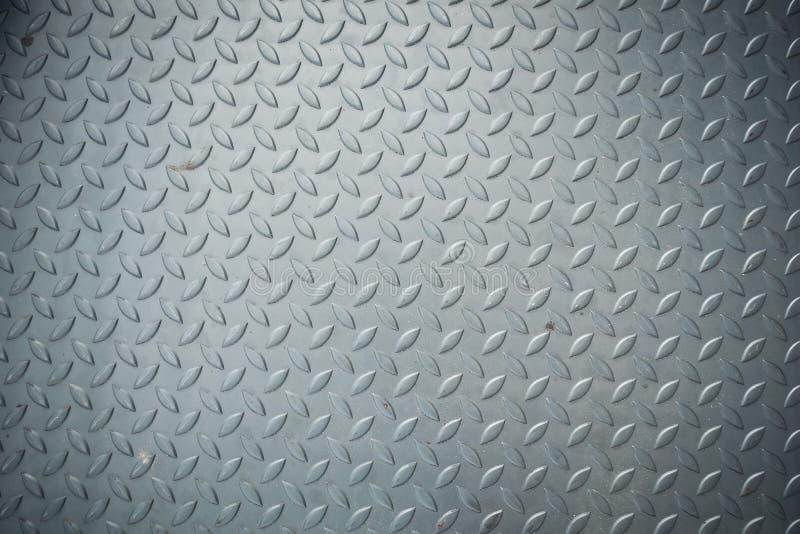 Textur av kontrollörplattadurken, däckar metallisk textur, bakgrund royaltyfria bilder