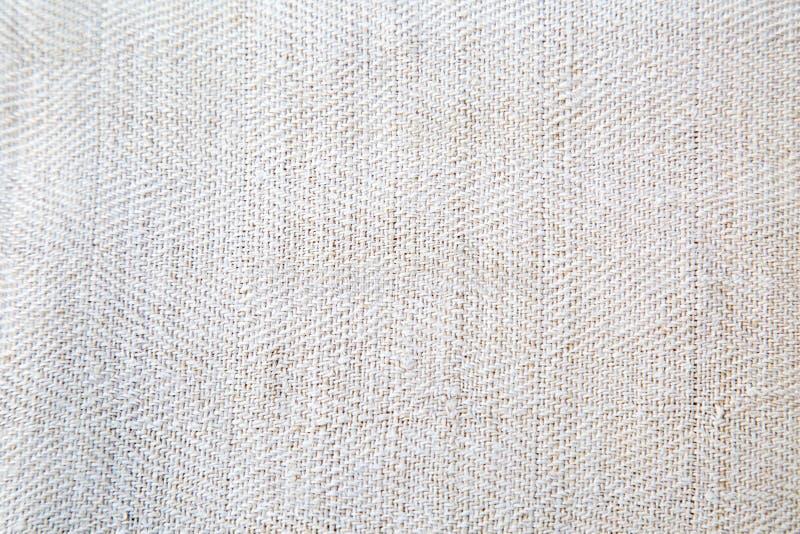 Textur av naturligt linnetyg med modellen royaltyfri fotografi