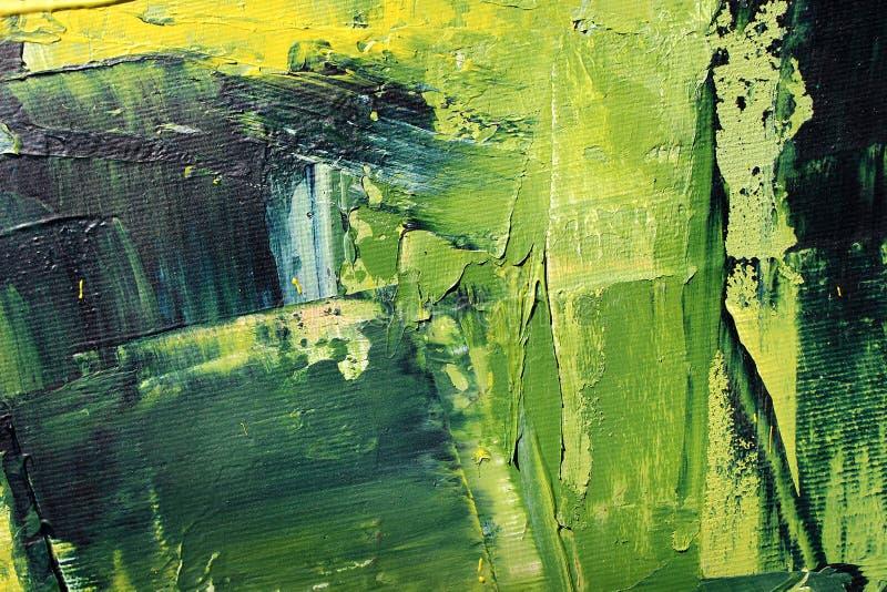 Textur av olje- målning, sommarsinnesrörelser royaltyfria foton