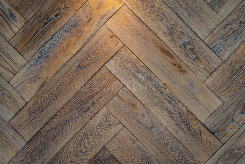 Textur av parketten för brun ek royaltyfria foton
