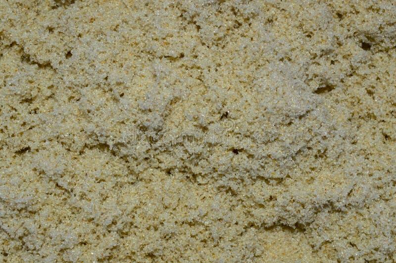 Textur av sand f?r grovt hav royaltyfri fotografi
