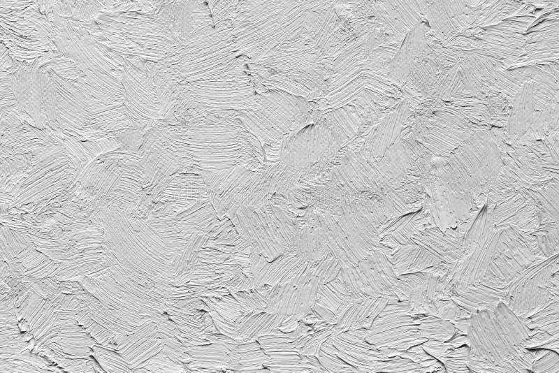Textur av slaglängder för en olje- målarfärg på kanfas arkivfoton