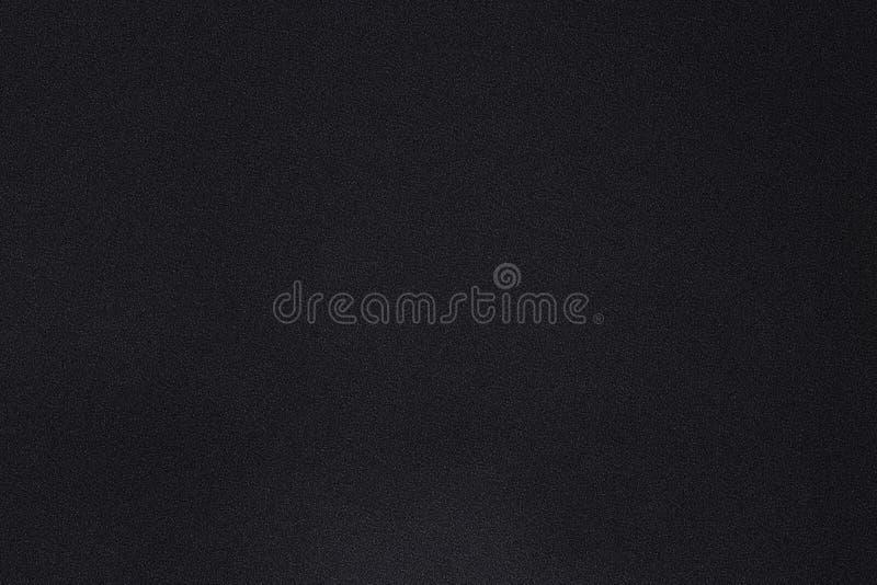 Textur av smuts på svart kanfas, abstrakt bakgrund arkivfoton