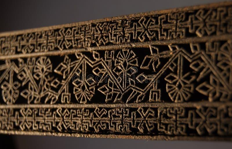 Textur av stämpeln för torkduk royaltyfri bild