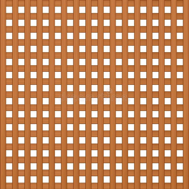Textur av träslatsöverlappningsfyrkanten royaltyfri illustrationer