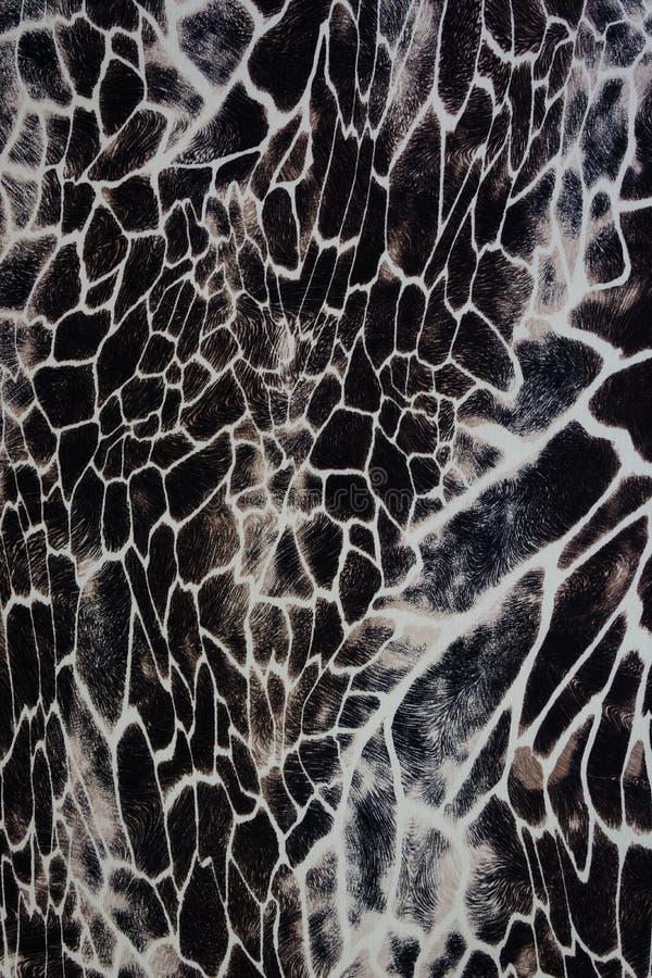 Textur av trycktyg gjorde randig sebran och leoparden arkivfoton