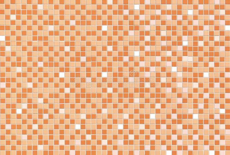 Textur av väggen för mosaisk tegelplatta arkivbilder