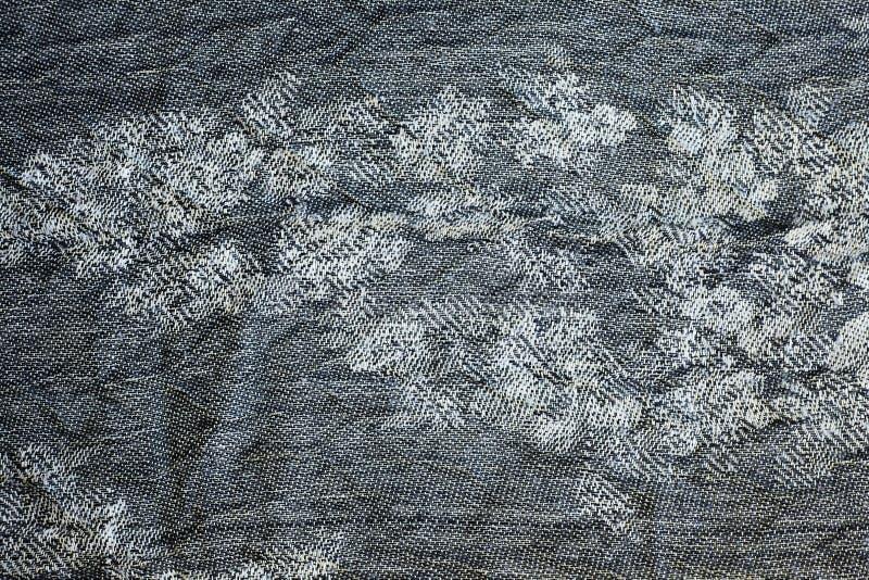 Textur av varm grå stucken vinterkläder royaltyfria foton