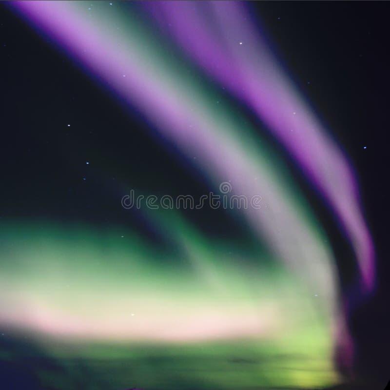 Textur av verkliga polara ljus royaltyfria bilder