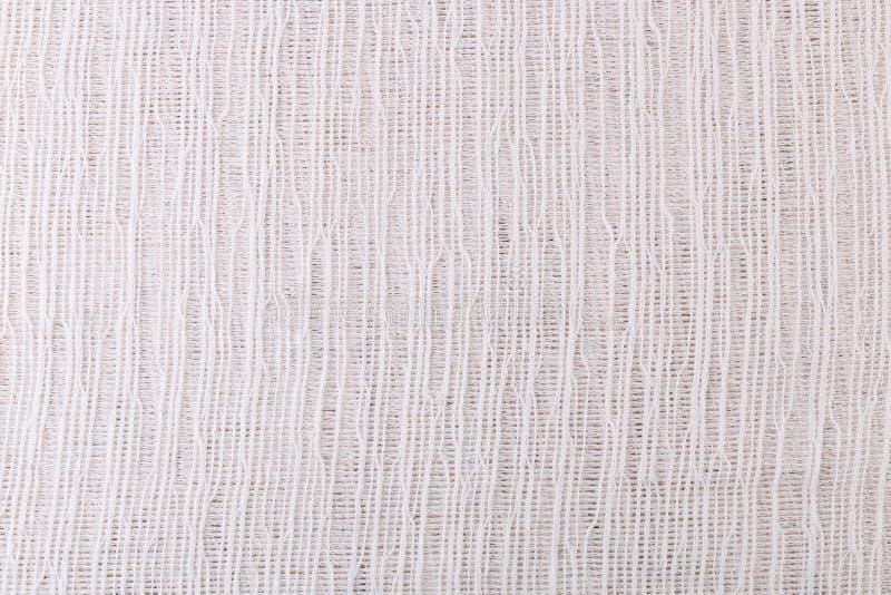 Textur av vitt flortyg för bakgrunden arkivfoto