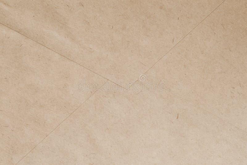 Textur der Papierhülle des Jahrgangs, Rückseite Recyclingfähiges Material, einschließlich Zellulose lizenzfreie stockbilder